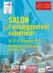 Salon de l 39 enseignement sup rieur montpellier ecole de - Salon sup alternance ...