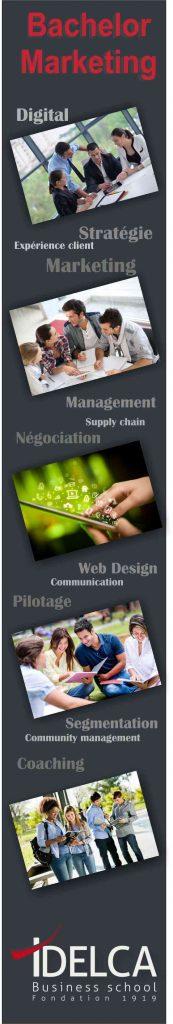 bachelor commerce et marketing